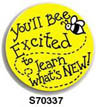 Bee There Sticker