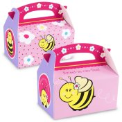 bee happy meal box