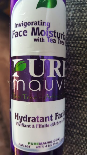 Carapex Pure Mauve Invigorating Face Moisturizer with Tea Tree Oil