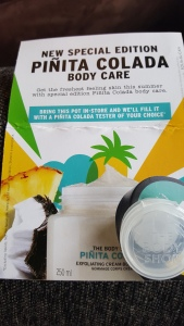 The Body Shop Special Edition Pinita Colada Body Sorbet