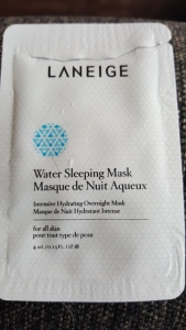 Laneige Water Sleeping Mask Intensive Hydrating Overnight Mask for all skin types