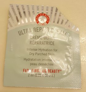 FAB First Aid Beauty Ultra Repair Cream for intense hydration for dry parched skin