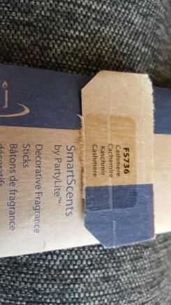 Partylite Decorative Fragrance Sticks in Cashmere
