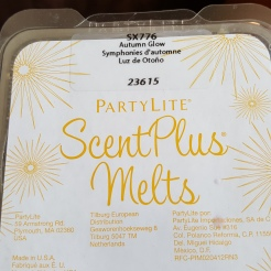 Partylite ScentPlus Melts in Autumn Glow