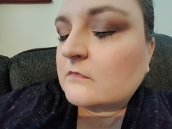 Wearing the PhotoReady Insta-Filter Foundation.